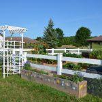 Master Gardener Volunteers installed a new community garden at the West Side YMCA (Green Bay).