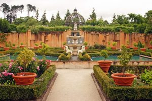 Italian Renaissance Garden at Hamilton Gardens, New Zealand.