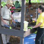 volunteering demonstrating tools