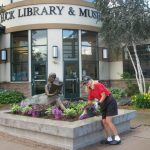 gardening at the library