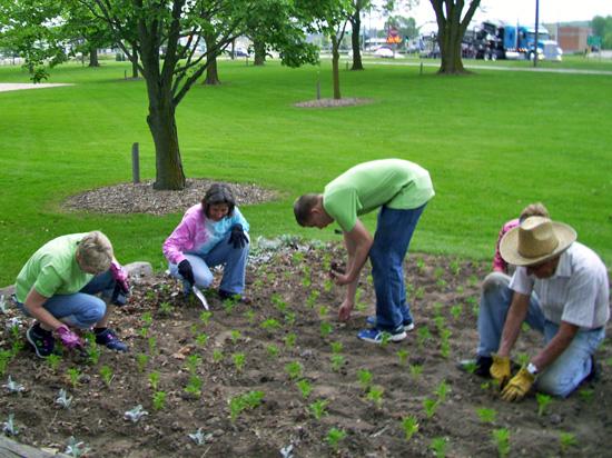Calumet Enhancing Community Garden