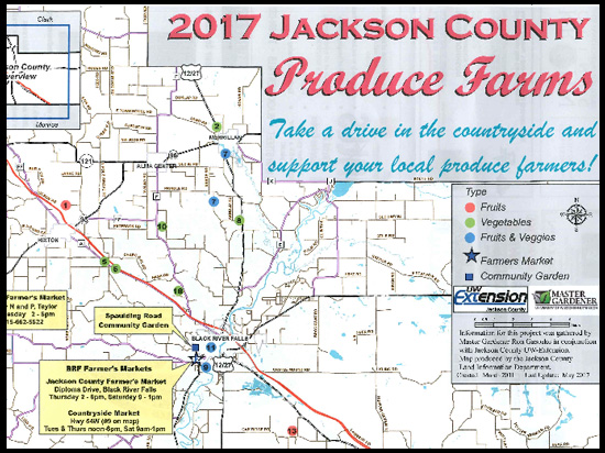 Jackson County Produce Farms