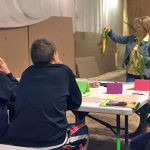 Ozaukee 4-H learning about horticulture.