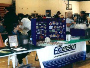 Volunteer Booth